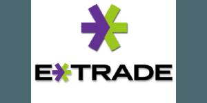 E trade logo