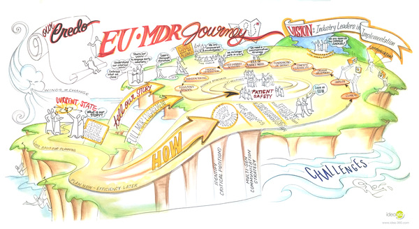 Strategic Visualization EU MDR Journey