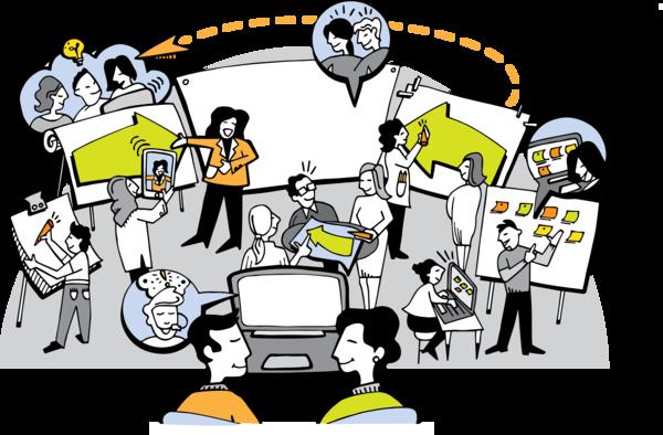 Hybrid Meetings Virtual Templates