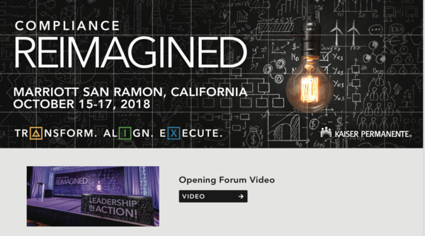 Reimainge organization conference with Kaiser Permanente using graphic facilitation